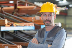 Excited supervisor with at warehouse. Excited supervisor with at the warehouse Stock Photo