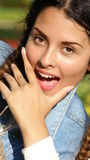 Excited Teenager Stock Image