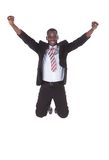 Excited Young Businessman Royalty Free Stock Photos