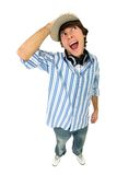 Excited young man Stock Image