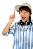 Excited young man Royalty Free Stock Images