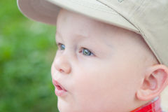 Excited Young Outdoorsman Stock Photos