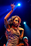 The Excitements (soul band) performs at Apolo venue Stock Images