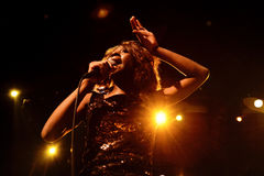 The Excitements (soul band) performs at Apolo venue Stock Photos