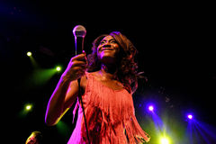 The Excitements (soul band) performs at Apolo venue Royalty Free Stock Photography