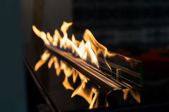 Exciting flame Stock Image