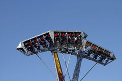Exciting games in funfair Stock Images