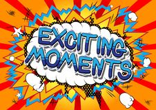 Free Exciting Moments - Comic Book Style Words. Royalty Free Stock Images - 129978669