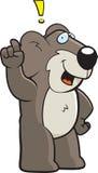 Exclamação do Koala ilustração stock