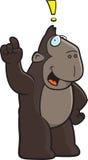 Exclamación del mono Fotos de archivo libres de regalías