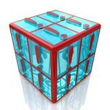 Exclamaciones del cubo Foto de archivo