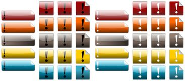 Exclamation Royalty Free Stock Images
