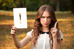 Exclamation Stock Photography