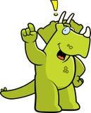 Exclamation de dinosaur Image stock