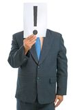 Exclamation head Royalty Free Stock Photography