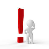 Exclamation mark Royalty Free Stock Images