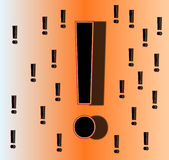 Exclamation Mark 4. This is a exclamation mark Stock Images