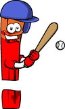 Exclamation mark Baseball Batter Stock Photos