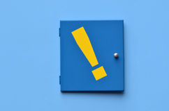 Exclamation mark - exclamation point Stock Image