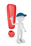 Exclamation mark Royalty Free Stock Image