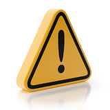 Exclamation Mark Symbol Attention Sign Warning Hazard Stock Photography