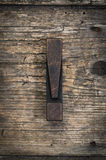 Exclamation mark vintage letterpress printing block Royalty Free Stock Images