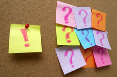Free Exclamation Vs Questions Stock Image - 14038231