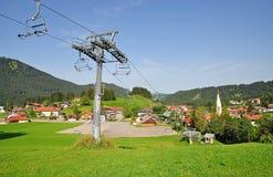 Exclave,Jungholz,Tirol,Austria Stock Images