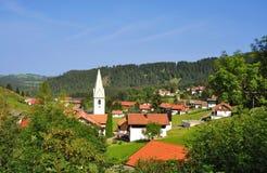 Exclave, Jungholz, Tyrol, Autriche photographie stock libre de droits