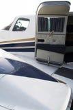 Exclusief bedrijfsvliegtuigdetail Royalty-vrije Stock Foto's