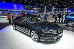 Exclusief Volkswagen Phaeton royalty-vrije stock afbeeldingen