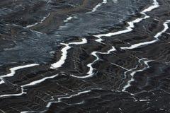 Exclusief zwart-wit marmeren marmeren natuurlijk patroon voor achtergrond royalty-vrije stock afbeelding