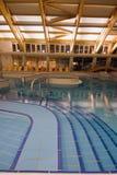 Exclusief zwembad stock fotografie