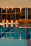 Exclusief zwembad stock afbeelding