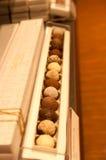 Exclusieve chocolade Stock Afbeeldingen