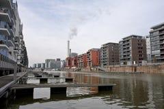 Exclusieve woonwijk Royalty-vrije Stock Foto's