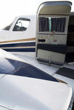 Exclusive business plane detail Royalty Free Stock Photos