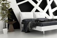 Exclusive Design Bedroom | 3d Interior architecture. A 3d rendering of an exclusive Design Bedroom | 3d Interior architecture Royalty Free Stock Photos
