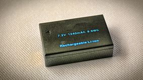 Exclusive do bloco da bateria Fotos de Stock Royalty Free