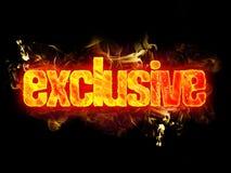 Exclusive do fogo Imagens de Stock
