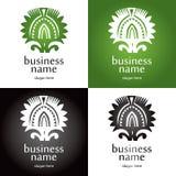 Logo rays Stock Image