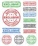 Exclusive grunge stamp Stock Images