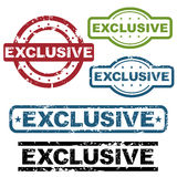 Exclusive grunge stamps royalty free stock photography