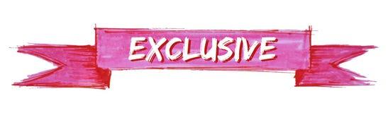 exclusive ribbon royalty free illustration