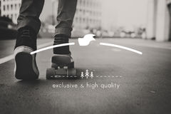 Exclusive High Quality Elegance Value Private Rank Concept Royalty Free Stock Photo
