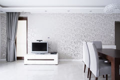 Exclusive living room interior Royalty Free Stock Photography