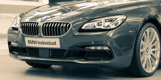 Exclusive model of BMW Individual special deluxe edition Stock Photography
