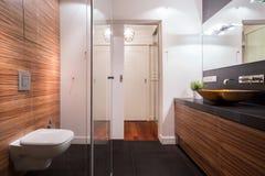 Exclusive new washroom Royalty Free Stock Photos