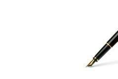 Exclusive pen. Stock Images