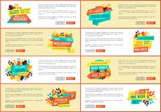 Exclusive Products Discount Vector Illustration royalty free illustration
